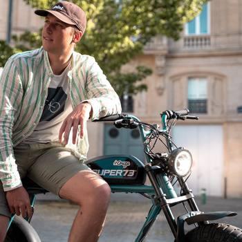 Vous êtes vraiment tous fans du S2 Hudson Blue, c'est pour ça qu'il est déjà en rupture et qu'il faut réserver sa place pour le prochain arrivage prévu fin Avril/début Mai 🤙  Tu valides ce coloris ou ton cœur penche pour un autre ? ⬇️ Dis le nous en commentaire ⬇️  #super73 #electricbike #letscruze